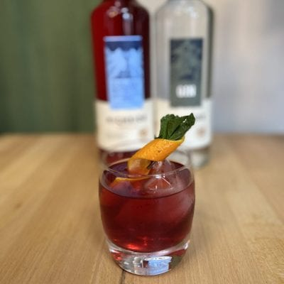 Plum Negroni Cocktail Kit Highside Distilling