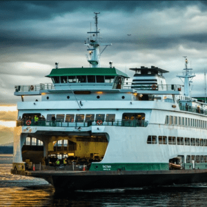 Docking Ferry Print Bergh Images