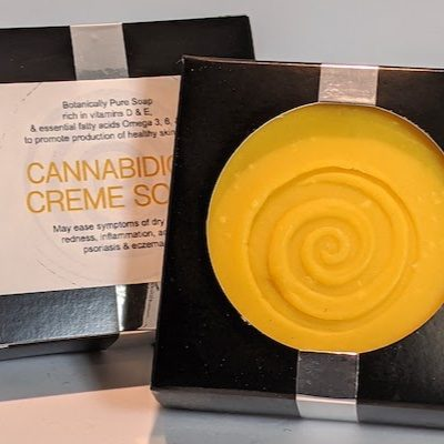 Fortner- Cannabidiol Creme Soap