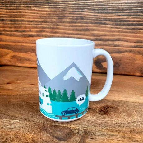Jen Colburn Design Missed Ferry Mug
