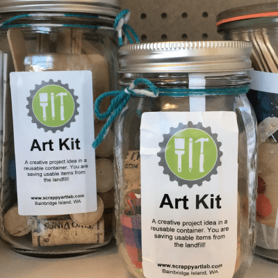 Scrappy Art Kit Scrappy Art Lab