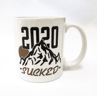 Sound Reprographics 2020 Sucked Mug