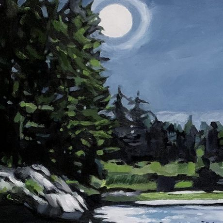 Tartaglia Fine Art – Full Moon at Clear Lake