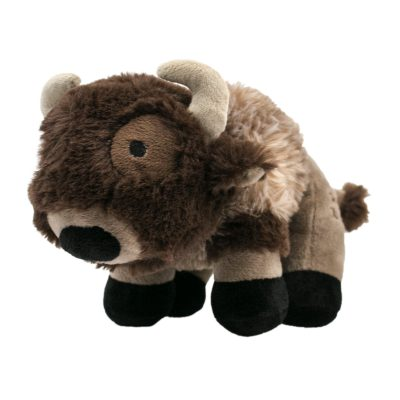 Z Bones Buffalo Squeaker Dog Toy