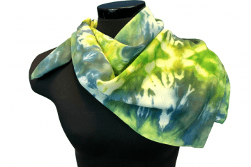 Not Fade Away My Seattle Garden Silk Scarf