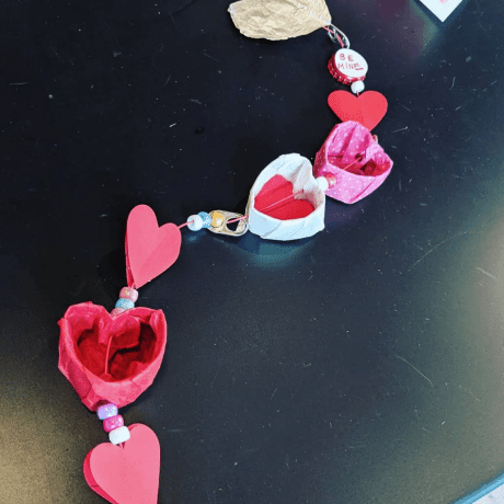 Scrappy Art Lab Valentine Chime