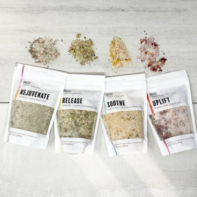 Haven 16oz Bath Salt Soak Sampler